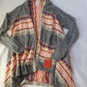 Mossimo open cardigan nwt size xs